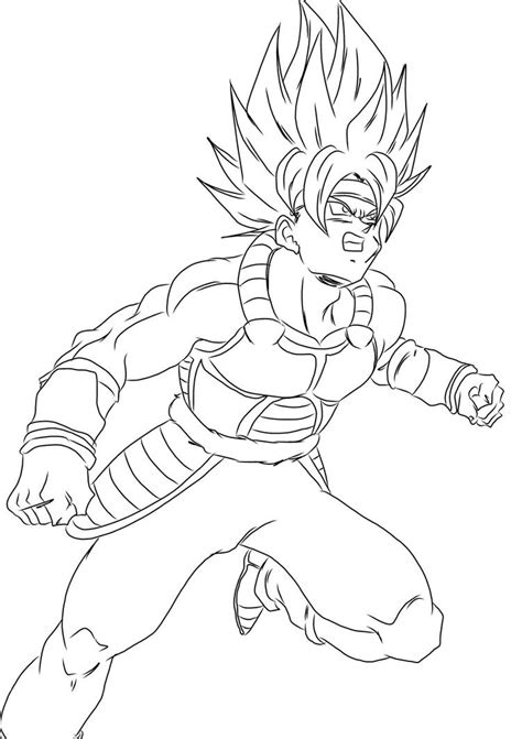 dragon ball z coloring pages bardock bardock drawing coloring coloring pages