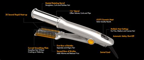 new hair styler as seen on tv as seen on tv instyler rotating hair iron om hair