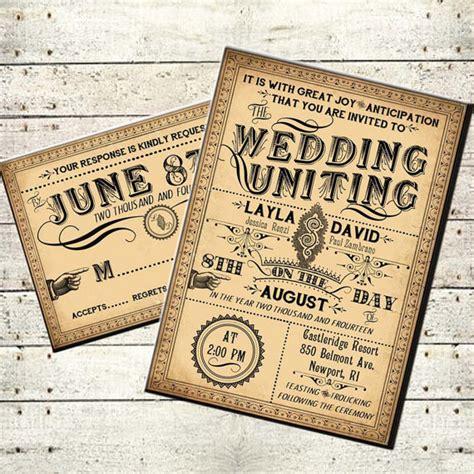 free printable victorian invitation ophelia printable diy victorian steunk wedding invitation