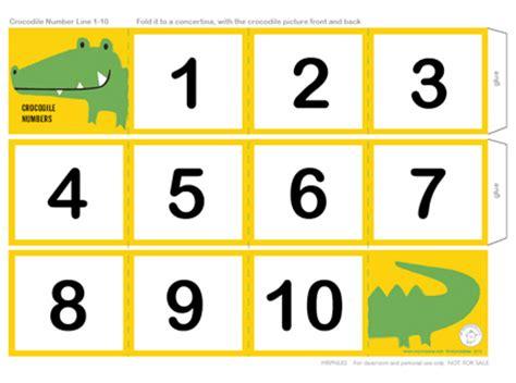 printable number line for nursery printable number line mr printables