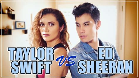 ed sheeran ft taylor swift taylor swift vs ed sheeran mashup 20 songs ft alyson