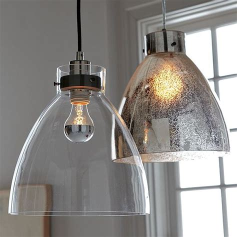 Glass Pendant Lights For Kitchen Island Minimalist Glass Pendant With An Industrial Design