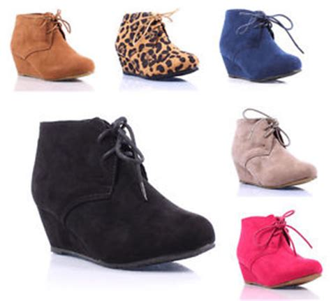 youth high heels new faux suede pumps lace up high heels ankle