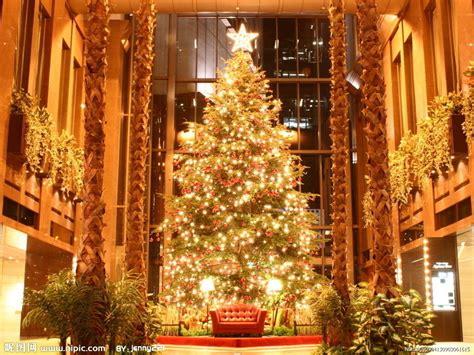tree decorations beautiful christmas light wallpaper 圣诞树摄影图 其他 现代科技 摄影图库 昵图网nipic