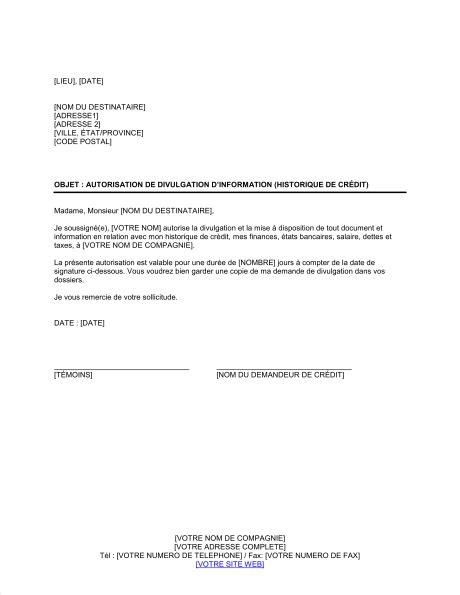 Exemple De Lettre Je Soussigné exemple lettre je soussigne autorise