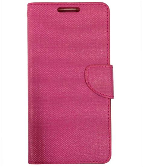 Flip Cover Vivo Y51 by Fabson Flip Cover For Vivo Y51 Pink Flip Covers