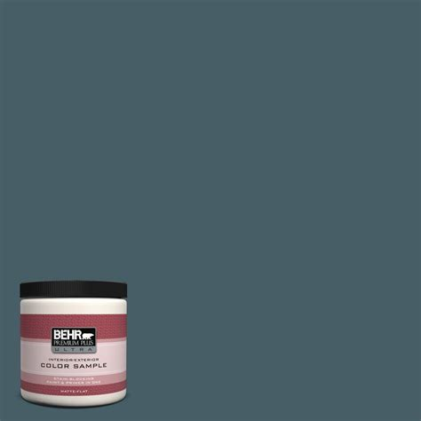 behr premium plus ultra 8 oz ppu13 19 observatory interior exterior paint sle ul20316 the