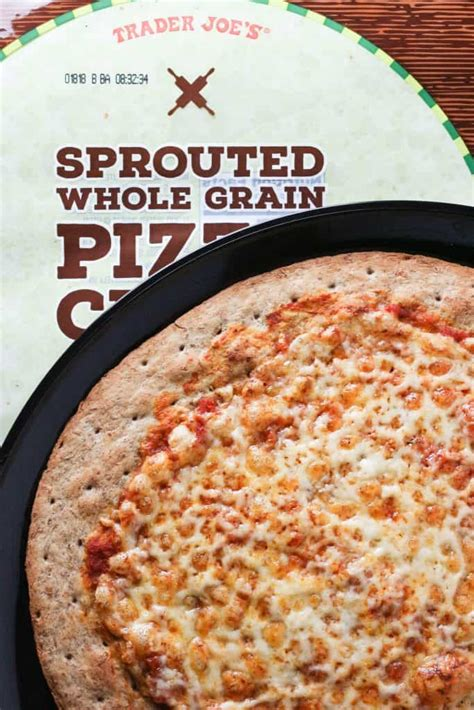 trader joe s whole grains trader joe s sprouted whole grain pizza crust