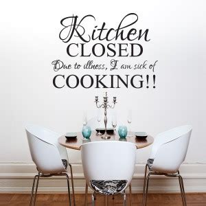 dining room decals kitchen closed wall art quote sticker kitchen dining