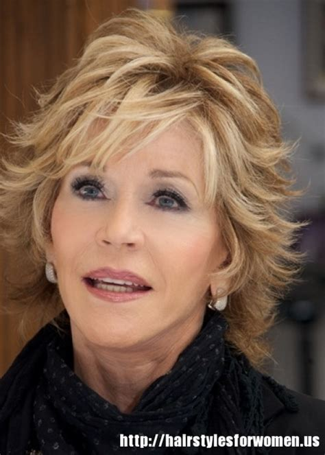 shag haircuts for women over 60 jane fonda short hairstyles for women over 60