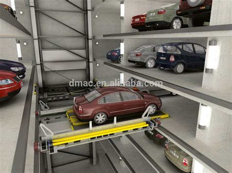 Different Types Of Building Plans Concrete Structure Multilevel Parking System Full Auto
