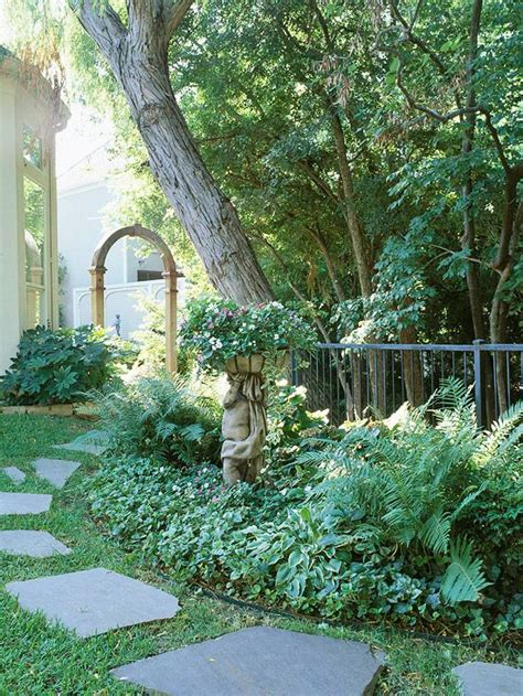 Shady Backyard Ideas Shade Garden Ideas Photograph Shade Garden