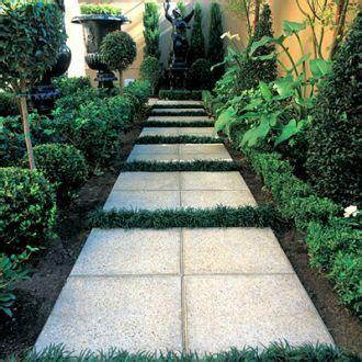 square concrete pavers  create  large