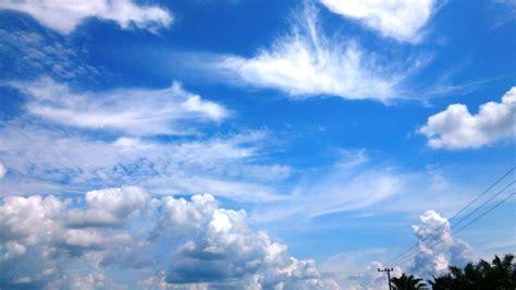 wallpaper pemandangan  background awan biru blog teraktual