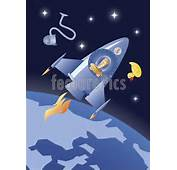 Gallery For &gt Cartoon Spaceship In Space