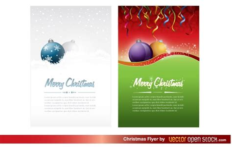 christmas flyer templates free christmas flyer vector free download