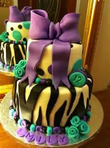 fondant 12 year old birthday cake zebra birthday cake birthday cakes cakes