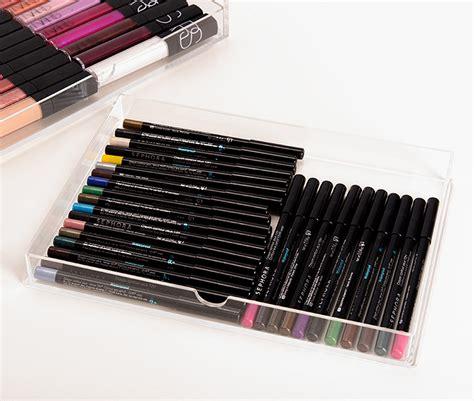 muji 5 drawer acrylic drawers for makeup organization