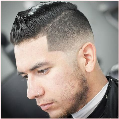 how to tyle combover fade mens short spiky hairstyles along with m r k thebarber and