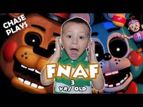 Freddy s 3 year old gameplay chase plays amp jumps fnaf 2 fgteev