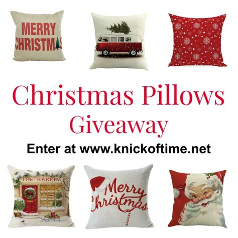 Gallery Furniture Christmas Giveaway - christmas pillows giveaway choice of 2 pillow covers