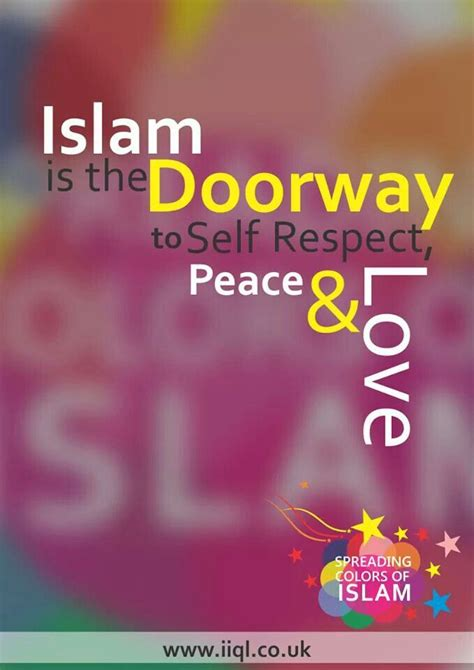 islam is the doorway to self respect peace and