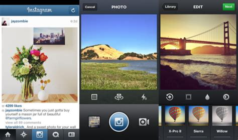 Landscape Photography Apps Instagram For Ios Gets Landscape Shooting Cinema Front
