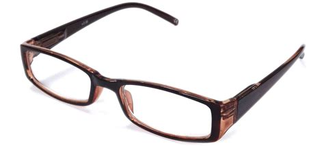 reading glasses in brown blue 1 00 3 50