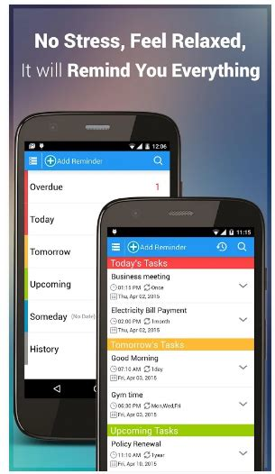 reminder app android best 15 best android reminder apps to do reminder vs bz reminder vs any do and 12 more visihow