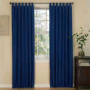 Tab Curtains American Denim Tab Top Curtains