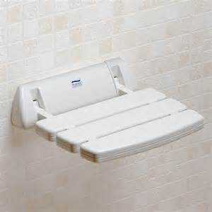 promed folding shower seat wall mounted shower seats