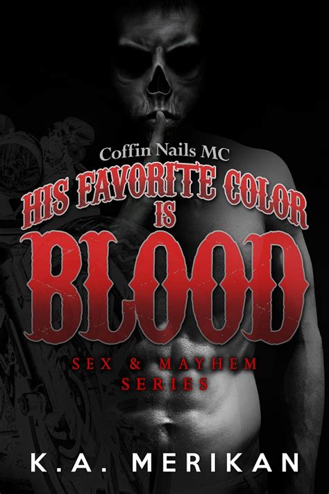 what gives blood its color his favorite color is blood 187 k a merikan