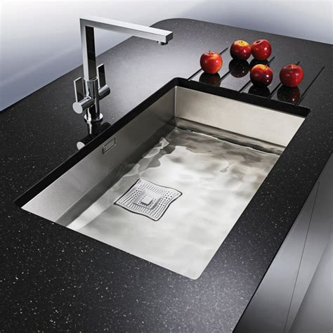 franke undermount kitchen sinks franke peak pkx 110 70 stainless steel 1 0 bowl undermount