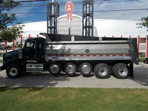 kenworth dump truck 2017 kenworth t800 dump trucks for sale 18 used trucks