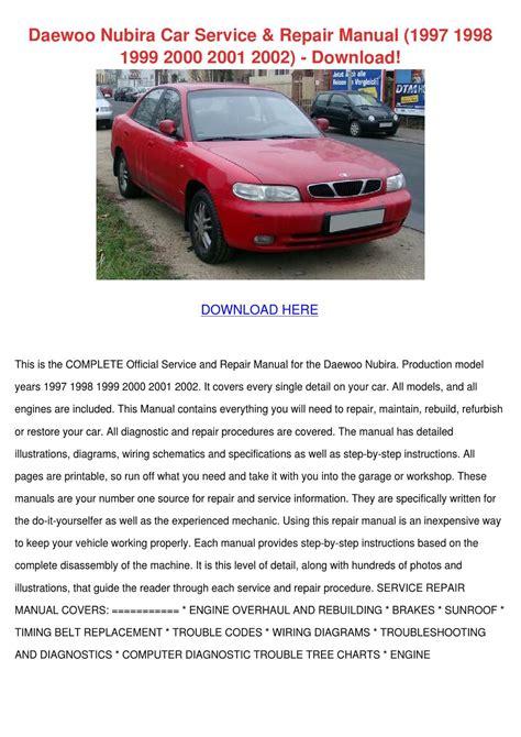 what is the best auto repair manual 1997 ford taurus regenerative braking daewoo nubira car service repair manual 1997 by rhondarasmussen issuu