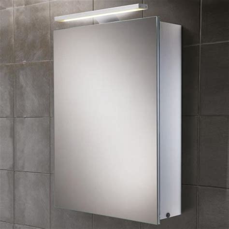 led bathroom mirror cabinet hib orbital steam free aluminium bathroom mirror cabinet