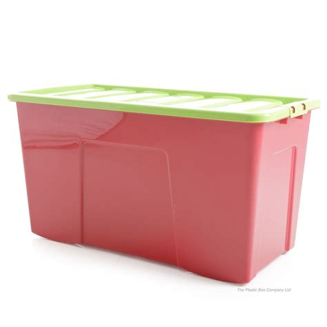 buy large storage containers buy large 110lt wham whatmore plastic