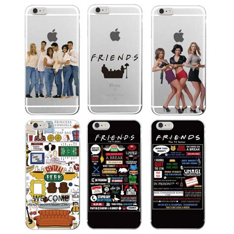 Iphone 5 6 6plus 7 7plus Aruhawaii Series Softcase for iphone 7plus 7 6 6s 6plus 8 8plus x samsung friends tv