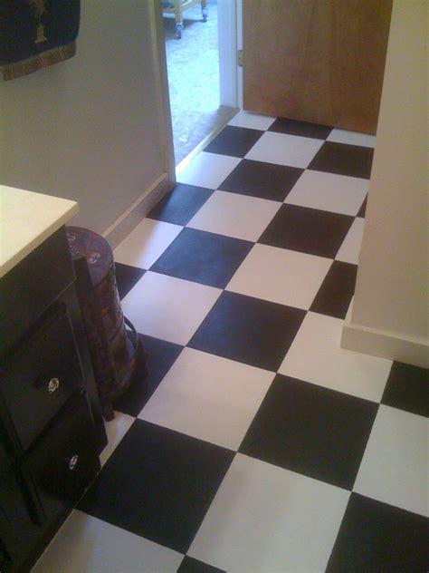 diy painting vinyl floor tiles wiseman designs