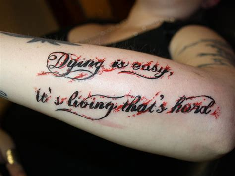 unique tattoo quotes about life 27 unique tattoo quotes which are adorable