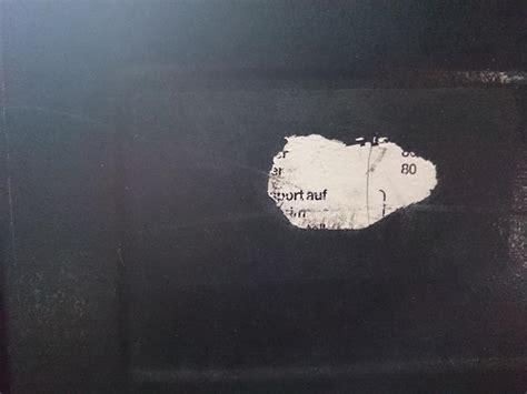 Windschutzscheibe Aufkleber Oben by Aufkleber Abdeckung Ablagefach U1300l Unimogforum