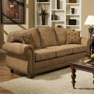 american sofa traditional sofa with with nail trim 6000 by