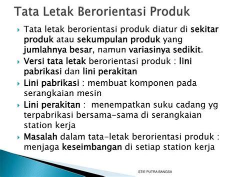 layout tata letak produk ppt tata letak powerpoint presentation id 7085859