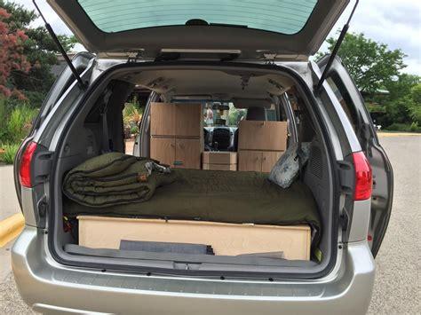 toyota sienna mini camper van mini camper minivan
