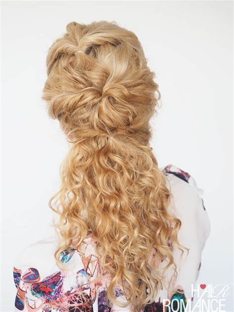 30 curly hairstyles in 30 days day 8 hair romance 30 curly hairstyles in 30 days day 7 hair romance