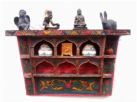 Moroccan Shelf by Vintage Moroccan Wood Shelf Made Wall Decoration