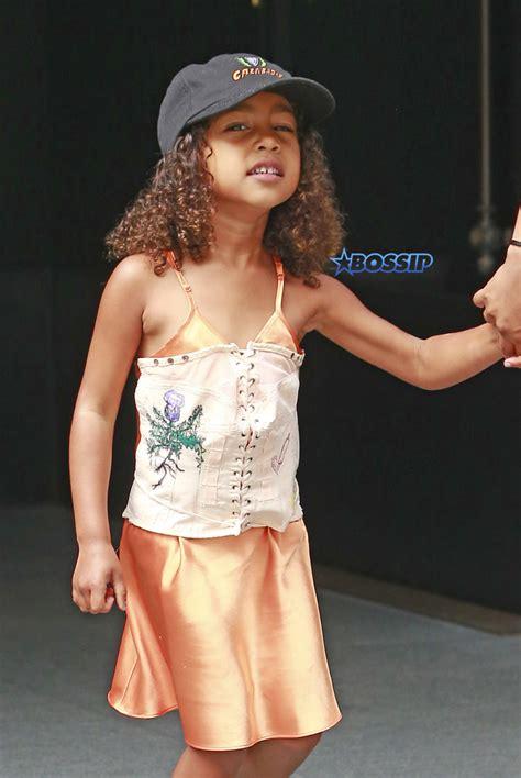 kim kardashian corset dress for north hate it or love it kim k tries to explain north s quot corset