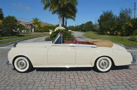 1960 silver cloud ii restored 4 door convertible lhd ac