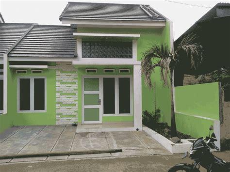 desain rumah hijau desain rumah minimalis nuansa hijau