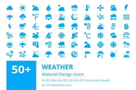 material design icon exit 50 weather material design icons creative stall